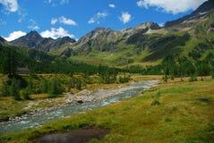 Paesaggio alpino, Alpe Veglia. Fotografie Stock