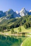 Paesaggio alpino del lago fotografia stock