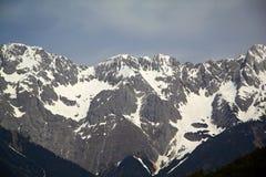 Paesaggio alpino della montagna delle alpi, cima di Europa, Svizzera Fotografia Stock Libera da Diritti