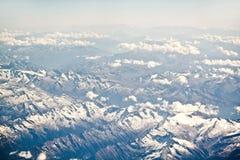 Paesaggio alpino della montagna delle alpi, cima di Europa, Svizzera Immagini Stock Libere da Diritti