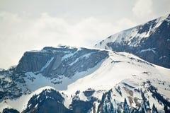 Paesaggio alpino della montagna delle alpi, cima di Europa, Svizzera Fotografie Stock