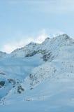 Paesaggio alpino della montagna delle alpi lungo il Bernina Immagine Stock Libera da Diritti