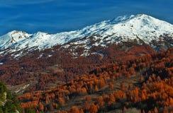 Paesaggio alpino di HDR Fotografie Stock
