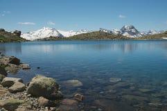 Paesaggio alpino maestoso Immagine Stock