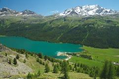 Paesaggio alpino maestoso Fotografie Stock Libere da Diritti