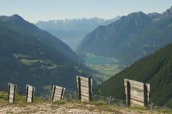 Paesaggio alpino maestoso Fotografia Stock