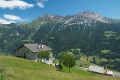 Paesaggio alpino maestoso Immagini Stock