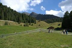 paesaggio alpino pittoresco immagini stock libere da diritti