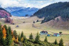 Paesaggio alpino rumeno Fotografia Stock Libera da Diritti