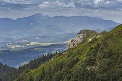 Paesaggio alpino scenico, Romania Fotografia Stock Libera da Diritti