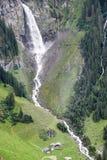 Paesaggio alpino vicino al passaggio di Chiusa nelle alpi svizzere Fotografie Stock