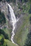 Paesaggio alpino vicino al passaggio di Chiusa nelle alpi svizzere Immagini Stock