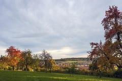 Paesaggio in Althengstett Fotografia Stock