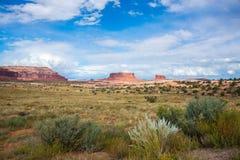 Paesaggio americano del deserto del canyon di sud-ovest Fotografie Stock