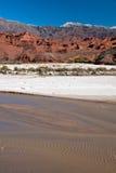 Paesaggio andino in Argentina fotografia stock libera da diritti