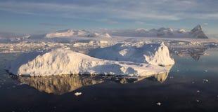 Paesaggio antartico Fotografia Stock