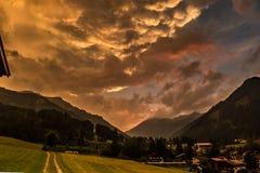 Paesaggio apocalittico Fotografia Stock