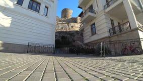 Paesaggio architettonico di affitto antico video d archivio