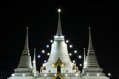 Paesaggio, asokaram del wat del tempio in Tailandia Fotografia Stock Libera da Diritti