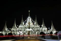 Paesaggio, asokaram del wat del tempio in Tailandia Fotografie Stock Libere da Diritti