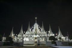 Paesaggio, asokaram del wat del tempio in Tailandia Immagini Stock