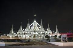 Paesaggio, asokaram del wat del tempio in Tailandia Immagini Stock Libere da Diritti