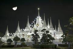 Paesaggio, asokaram del wat del tempio in Tailandia Fotografia Stock