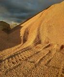 Paesaggio atmosferico del deserto immagini stock libere da diritti