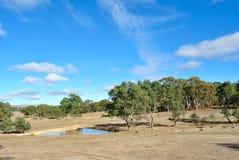 Paesaggio australiano Fotografia Stock