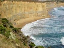 Paesaggio australiano dell'oceano Fotografie Stock Libere da Diritti
