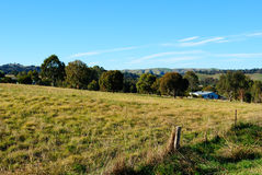 Paesaggio australiano rurale Fotografia Stock Libera da Diritti