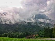 Paesaggio austriaco delle alpi Fotografia Stock Libera da Diritti