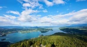 Paesaggio austriaco di estate Immagine Stock Libera da Diritti