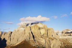 Paesaggio autunnale delle alpi italiane Fotografia Stock