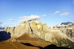 Paesaggio autunnale delle alpi italiane Immagini Stock Libere da Diritti