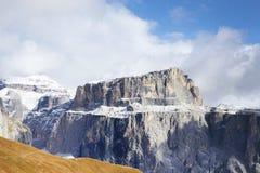 Paesaggio autunnale delle alpi italiane, dolomia Immagine Stock Libera da Diritti