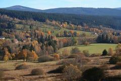 Paesaggio in autunno Fotografia Stock