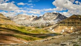 Paesaggio Banff Alberta della montagna Fotografie Stock