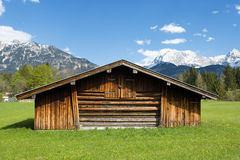 Paesaggio bavarese Fotografia Stock