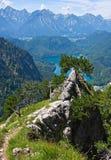 Paesaggio bavarese Immagini Stock Libere da Diritti