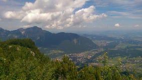 Paesaggio in Baviera Fotografia Stock