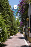Paesaggio Belgrano della città Fotografia Stock Libera da Diritti