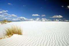 Paesaggio bianco delle sabbie immagini stock