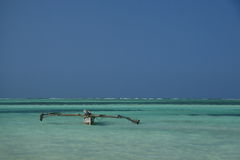 Paesaggio blu del mare Fotografia Stock Libera da Diritti