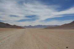 Paesaggio boliviano del plateau fotografia stock libera da diritti