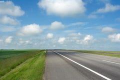 Paesaggio: bordo della strada fotografie stock