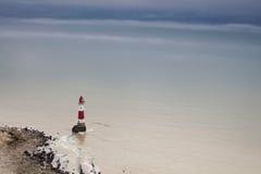 Paesaggio britannico del litorale Immagine Stock