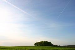 Paesaggio in Brittany Immagini Stock