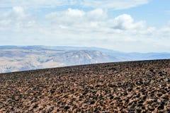 Paesaggio bruciacchiato, Swaziland Fotografie Stock