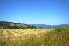 Paesaggio bulgaro di estate della montagna fotografie stock